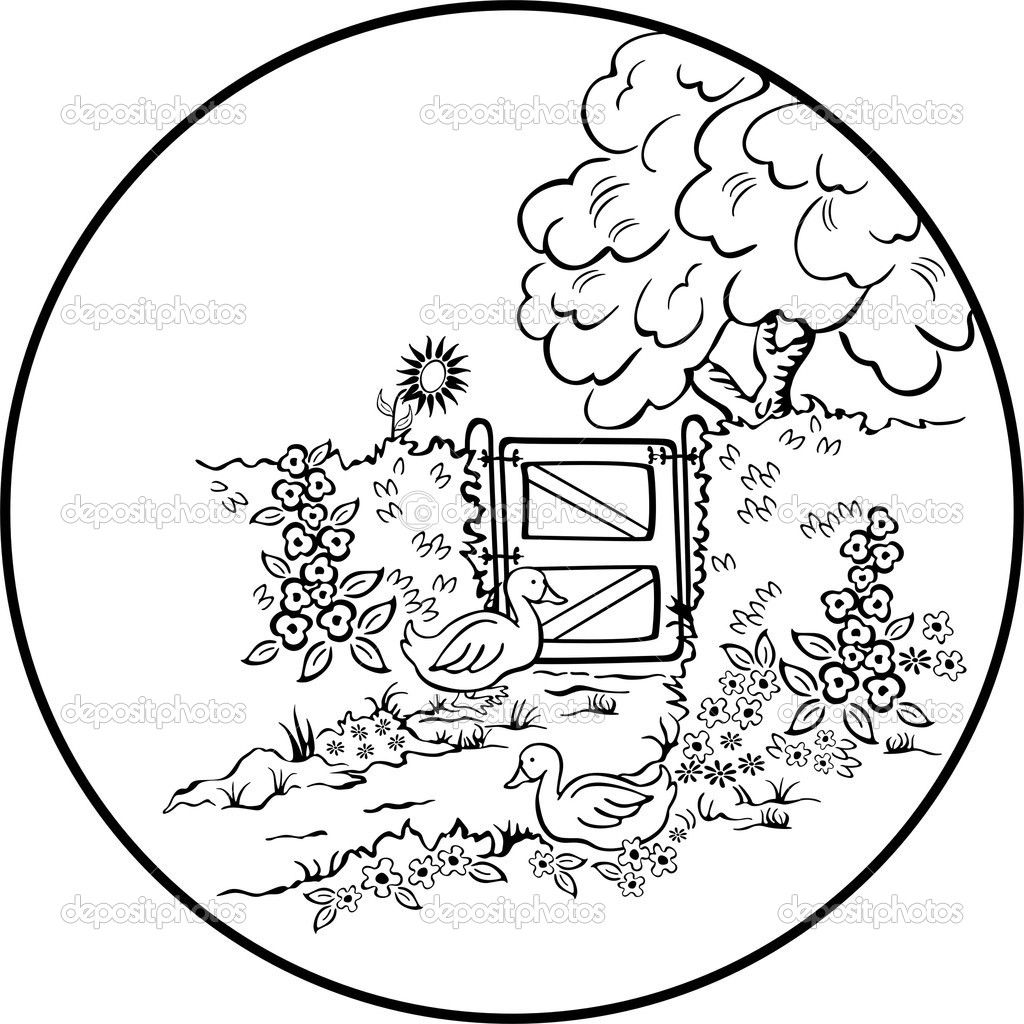 scenic coloring pages beautiful scenery colouring pages page 2
