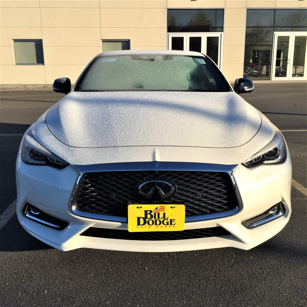 Say hello to the 2019 INFINITI Q60 Red Sport 400 with AWD