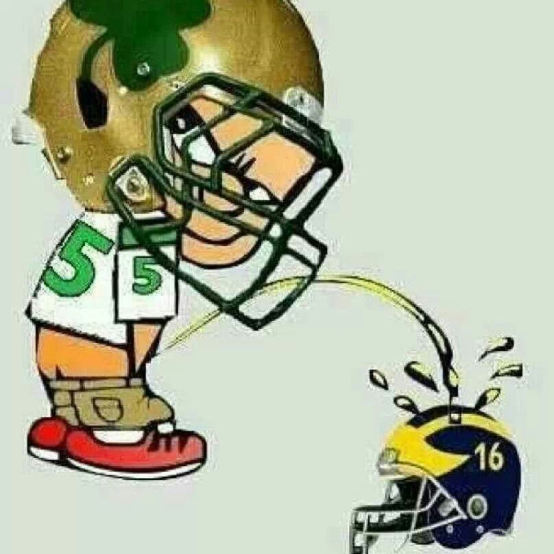 Picture pitt pissing on notre dame
