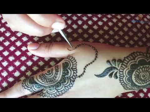 Mehndi Henna Designs S : 3 new dubai kaleegi gulf mehndi henna design for hands youtube