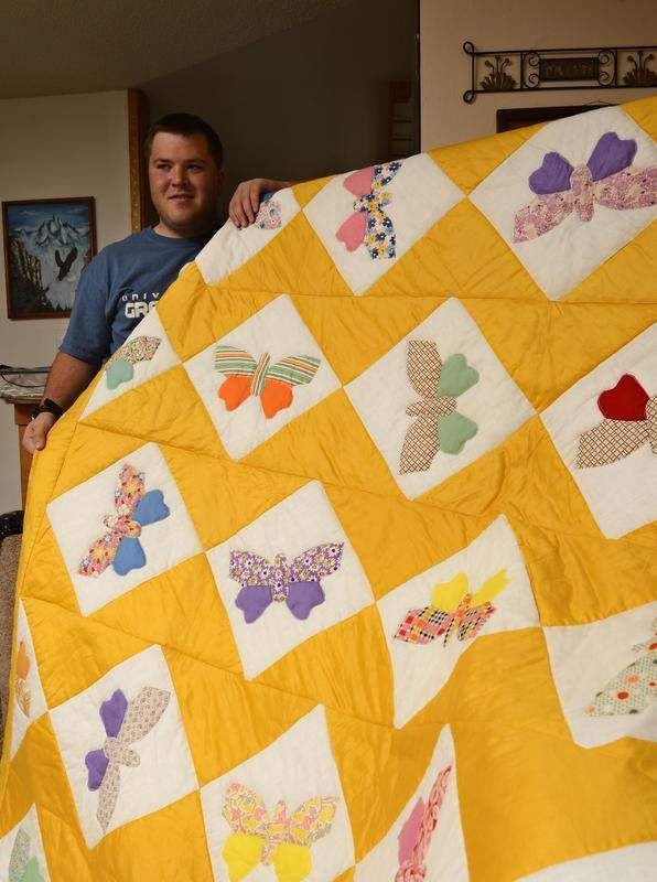 Stitches in time sew up project - a great story