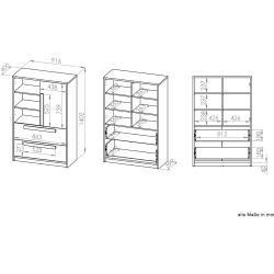 Photo of Reduced beech dresser
