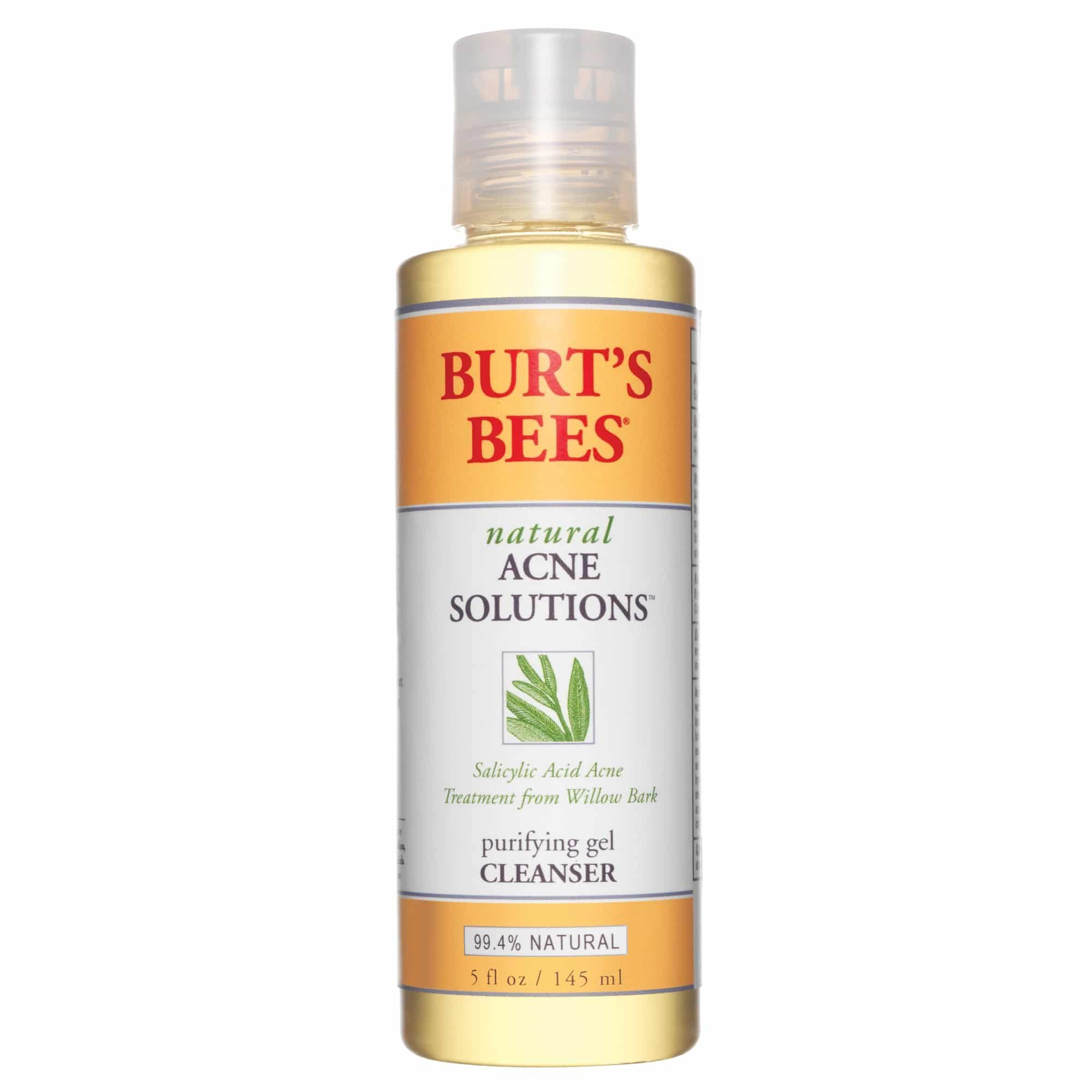 Burtus Bees Natural Acne Solutions Purifying Gel Cleanser  Best