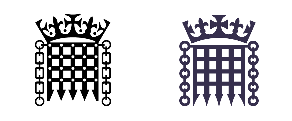 Brand New New Logo And Identity For Uk Parliament By Someone Typographic Logo Identity Logo Logo Design