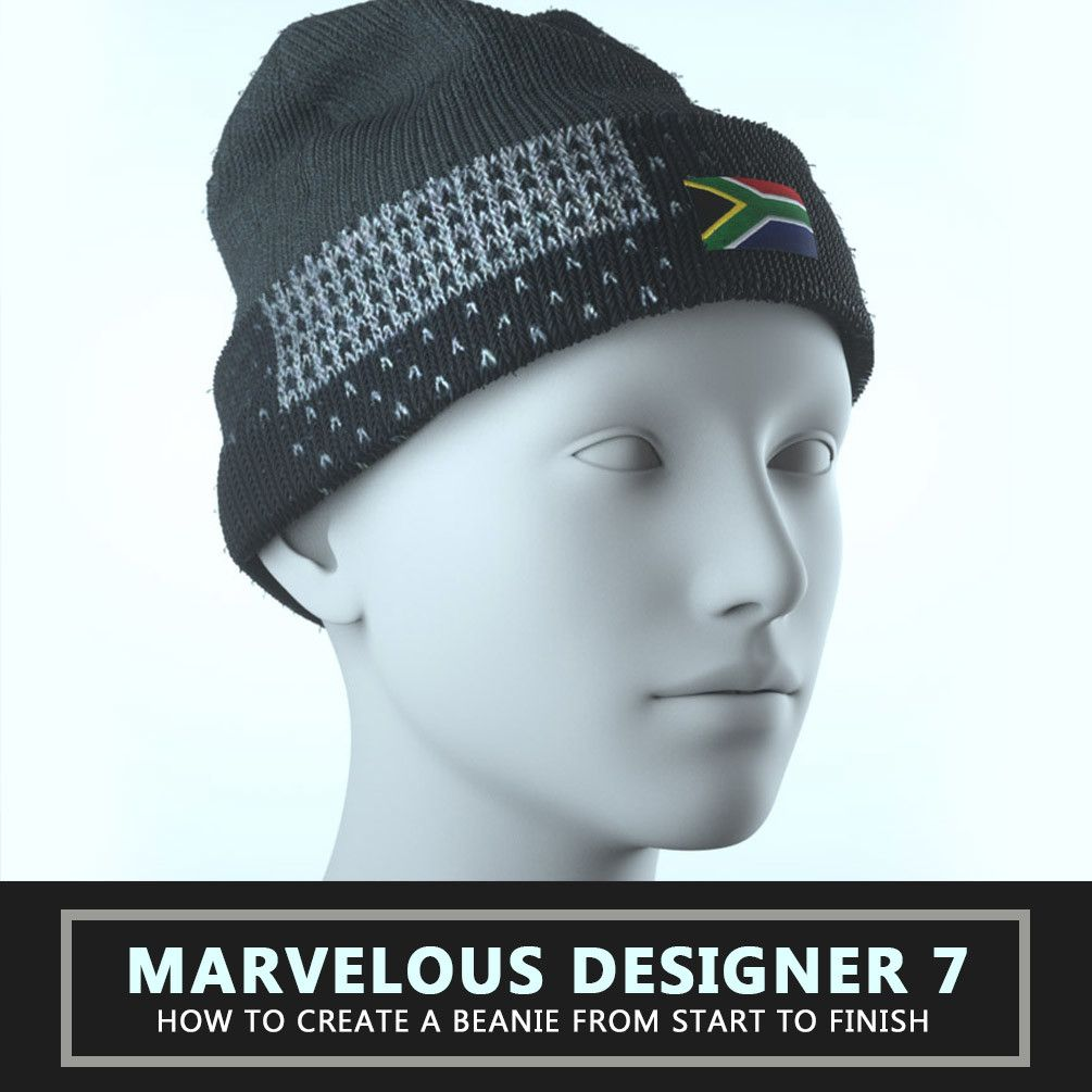 TUTORIAL - Marvelous Designer 7 - How To Create A Beanie, Travis ...