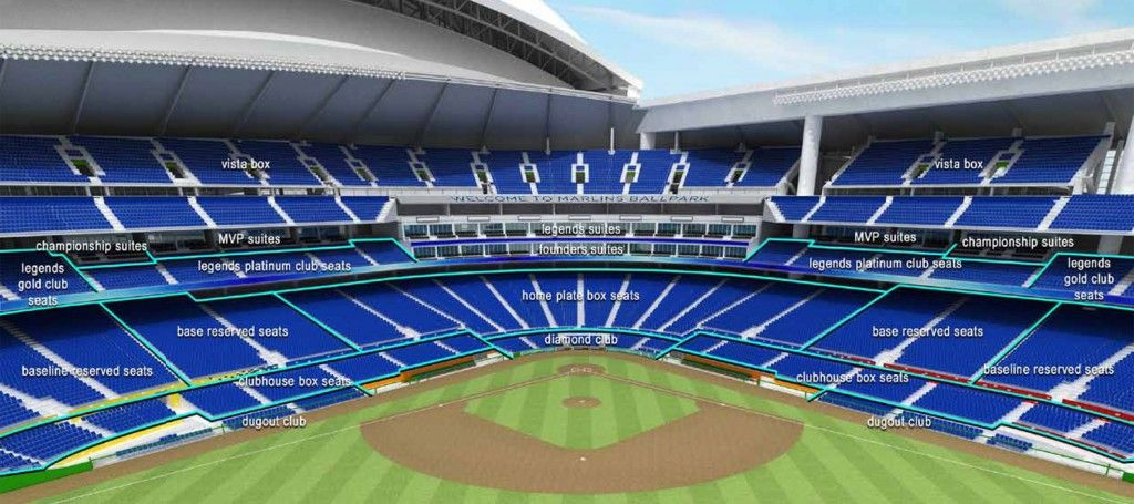 Marlins Park Miami Fl Stadiums Park Baseball Park Miami Marlins