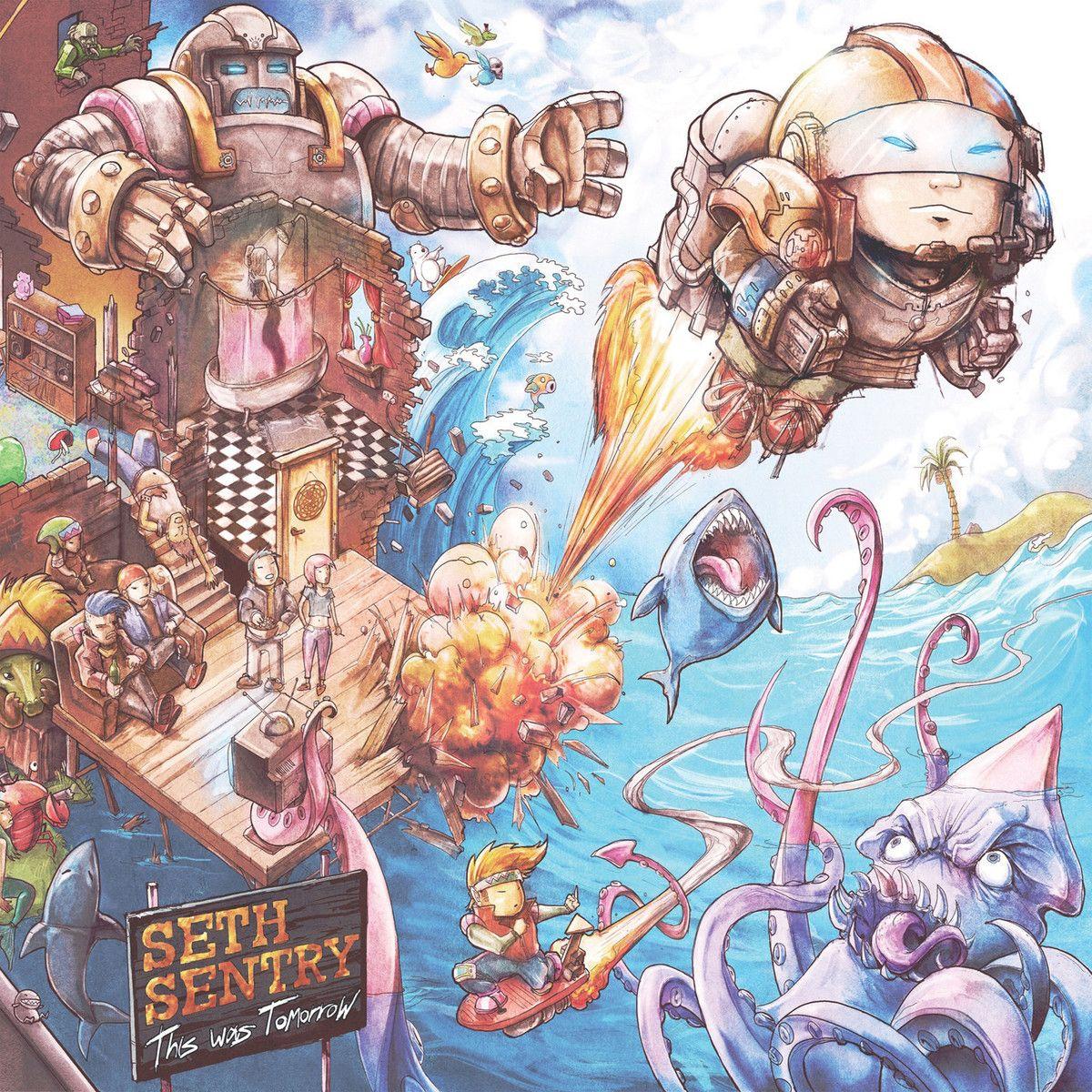 Seth Sentry This Was Tomorrow Music Artwork Cool Things To Buy Triple J Hottest 100