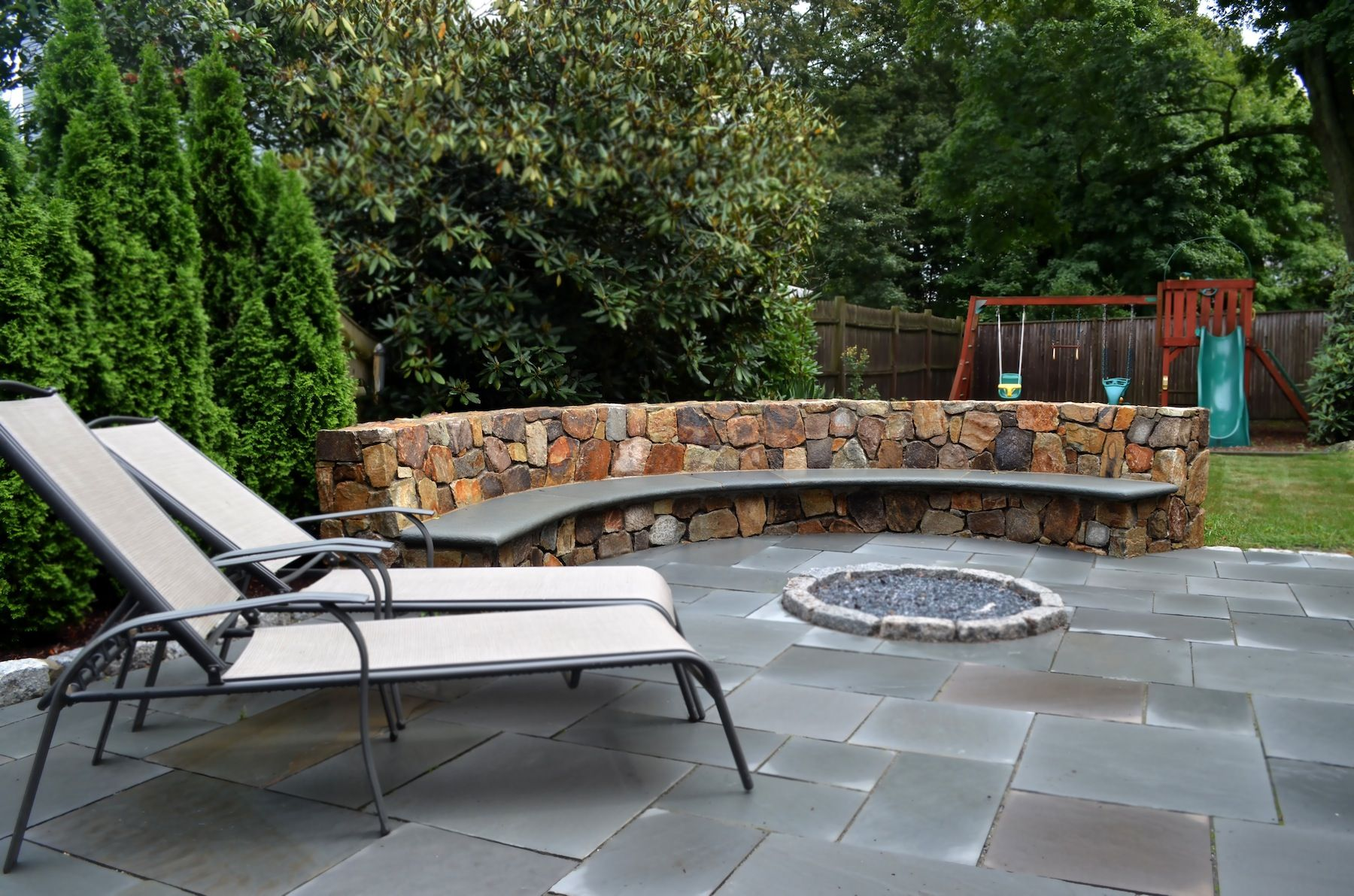 Bench Outdoor Patio Fire Pits 800x530
