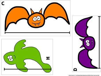 MEASURING BATS, SPIDERS & GHOSTS free