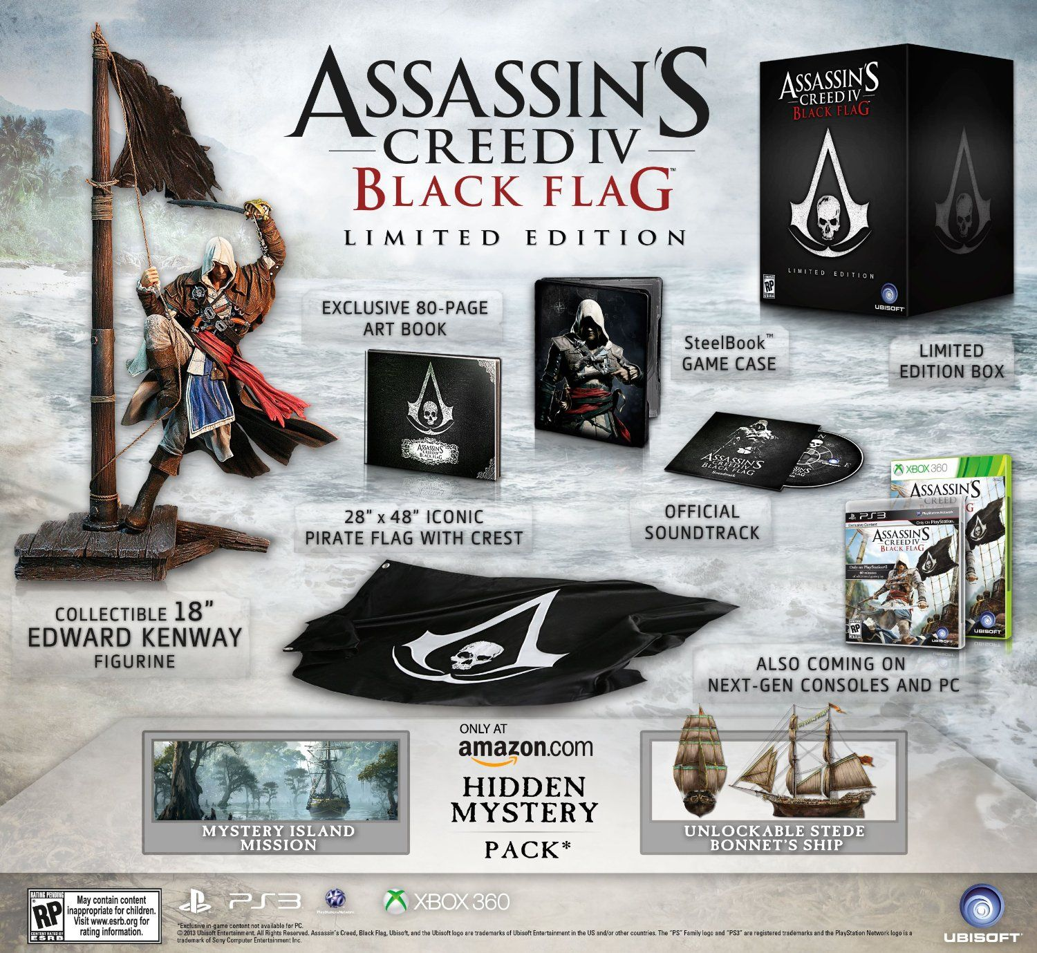 Assassin S Creed Iv Black Flag Limited Edition Playstation 4