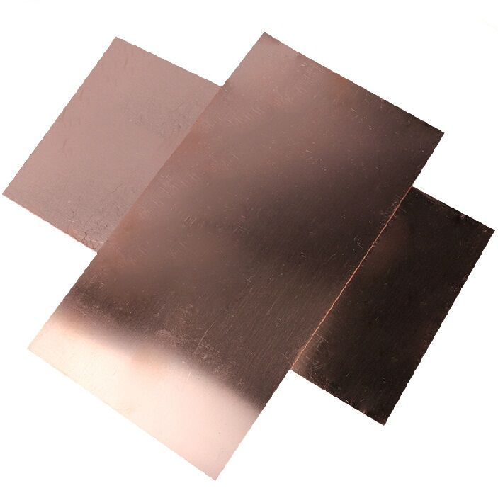 0 5mm 100x100mm 99 9 Purity Diy Material Copper Bar Plate Block Copper Strip Electrolytic Sheet Copper Bar Diy Materials Copper Sheets