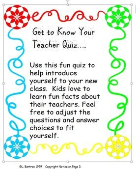 introduce myself to teacher This way, you introduce yourself first  once the worksheets are completed,  students introduce themselves to the rest of the  are you a student or a teacher.
