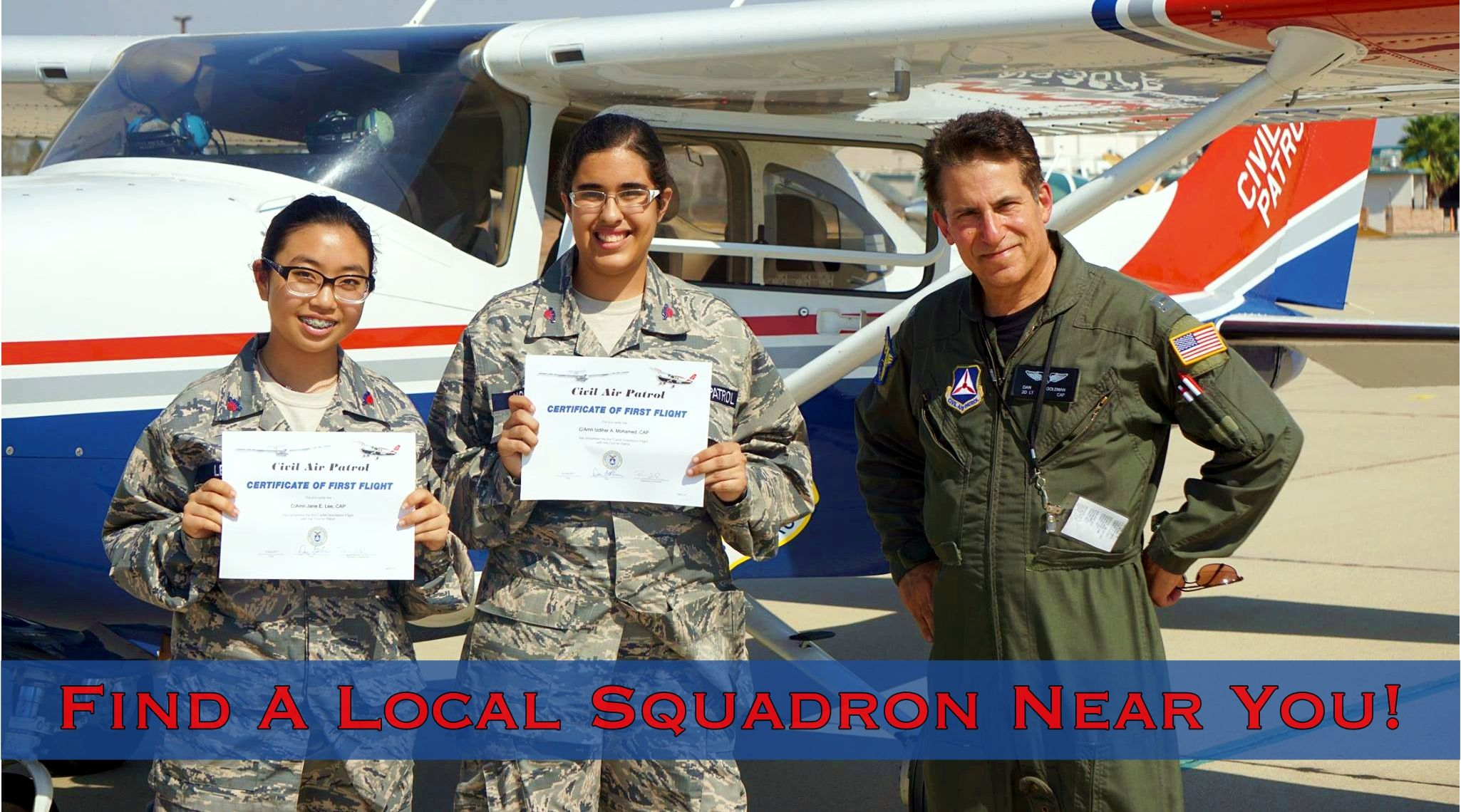 California Wing CAP Civil air patrol, The unit, Education