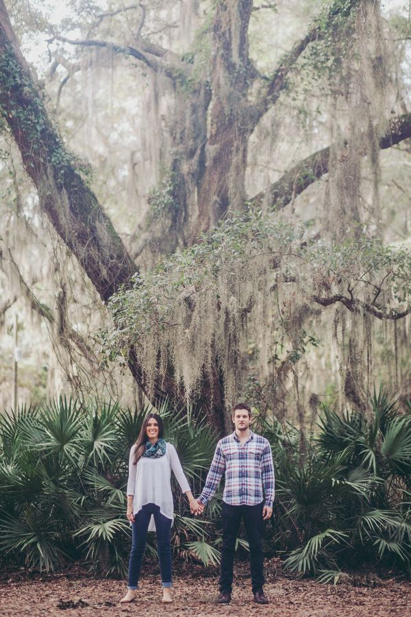 Low-Country Pier Engagement Shoot in St Simons Island | Mintwood Photo Co.