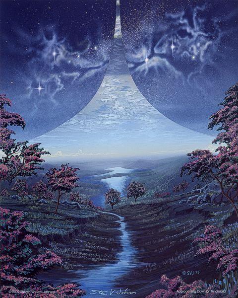 70s Sci Fi Art, Fantasy Landscape, Sci Fi Art