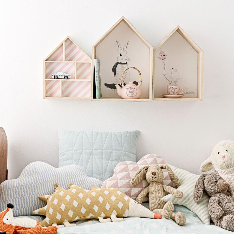 Bloomingville Deko-Haus Natural/Print online kaufen | Emil & Paula ...