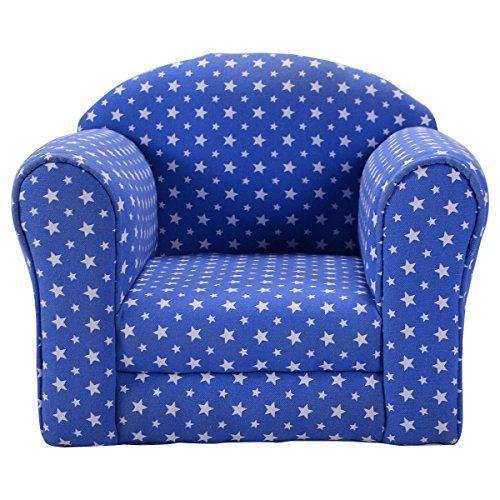 Costzon Kid Sofa Armrest Chair W Stars Blue Kids Children Pinterest And Child