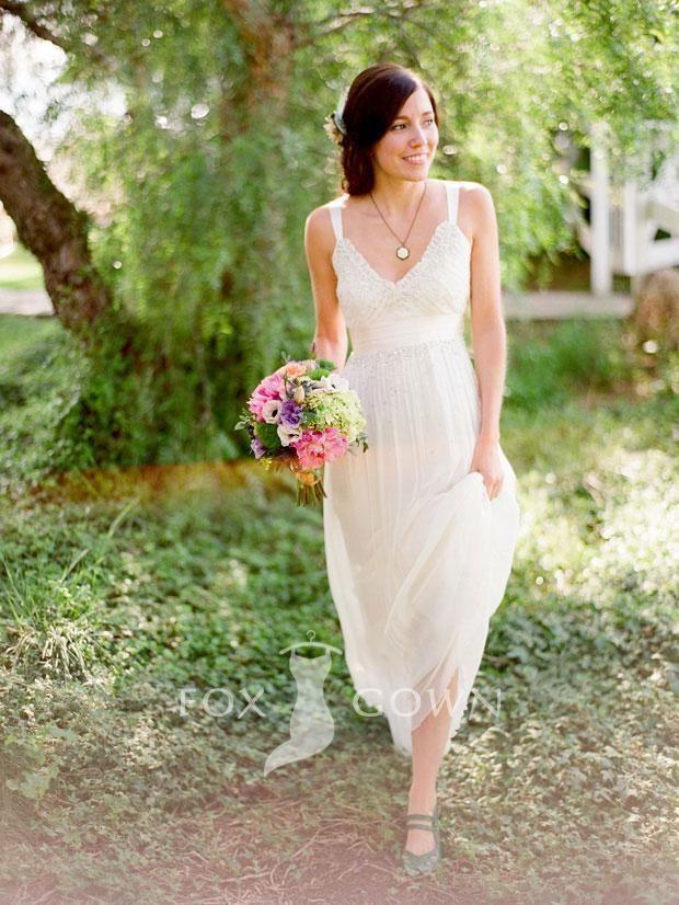 Delicieux Backyard Wedding Dress Ideas