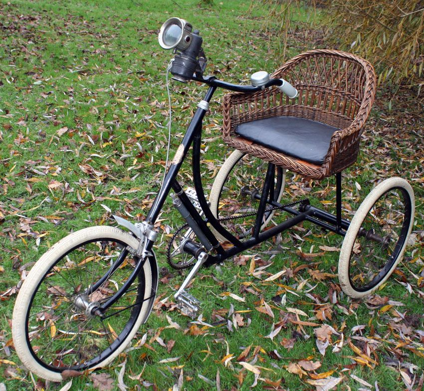 Love Love Love This So Had To Pin Page 352 1928 Rochet Wicker Seat Tricycle Www Buyvintage Co Uk Tricycle Vintage Bicycle Parts Bicycle