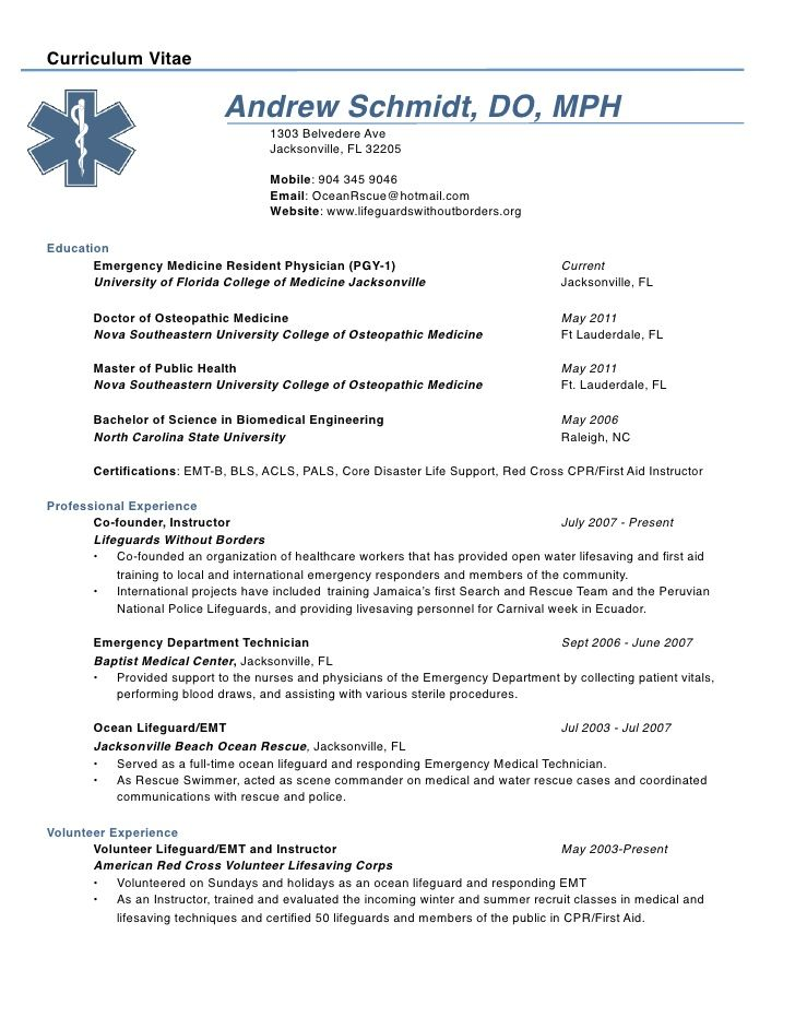Andrew Schmidt Cv Job Resume Samples Sample Resume Job Cover Letter