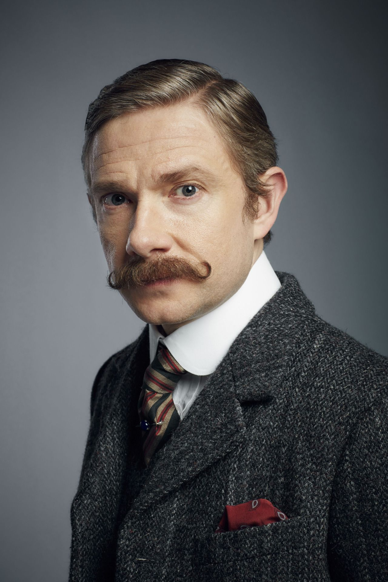 SHERLOCK (BBC/PBS) ~ John Watson (Martin Freeman) in the pre-Season 4 special, SHERLOCK: THE ABOMINABLE BRIDE, which premieres January 1, 2016 on BBC and PBS.