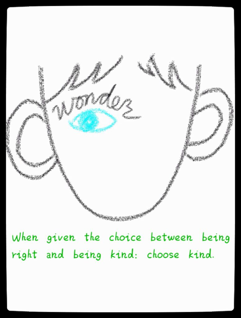 When Given The Choice Between Being Right And Being Kind Choose