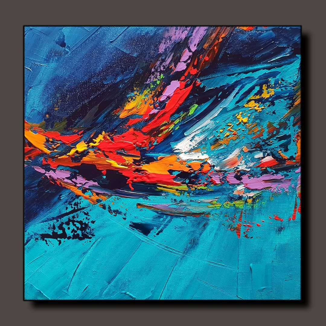 Abstract Painting Painting A Day 0257 Available For Sale