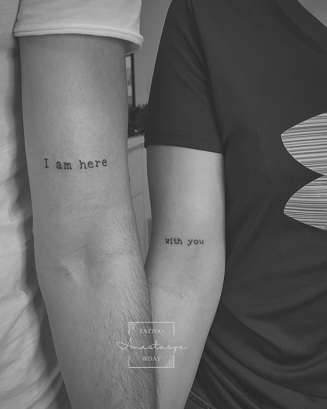 Ideen partner tattoo 50 Partner