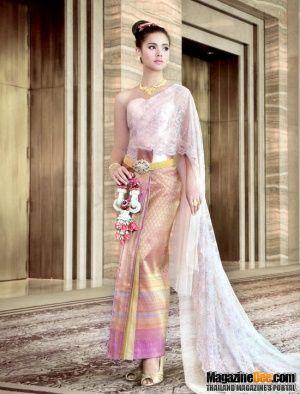 Yaya In Traditional Thai Wedding Dress