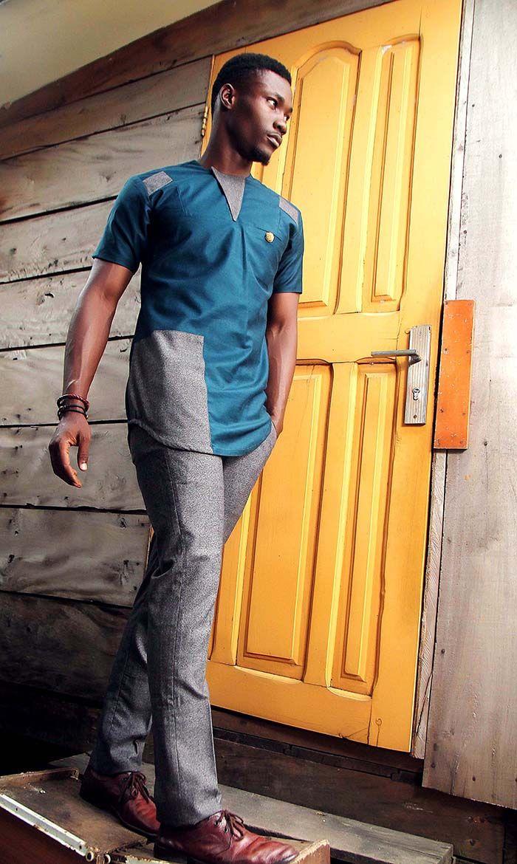 Shirt design in nigeria - New Nigerian Label Kamsi Tcharles Presents The Okpara Collection