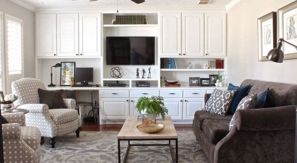 Transforming the formal living room into a more functional room