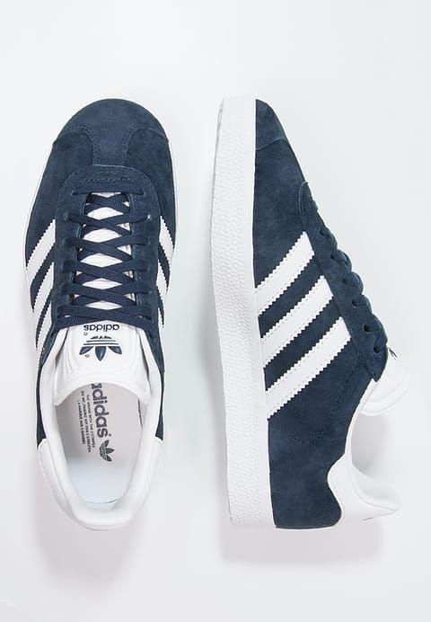 adidas Originals GAZELLE Sneakers laag mid greywhite