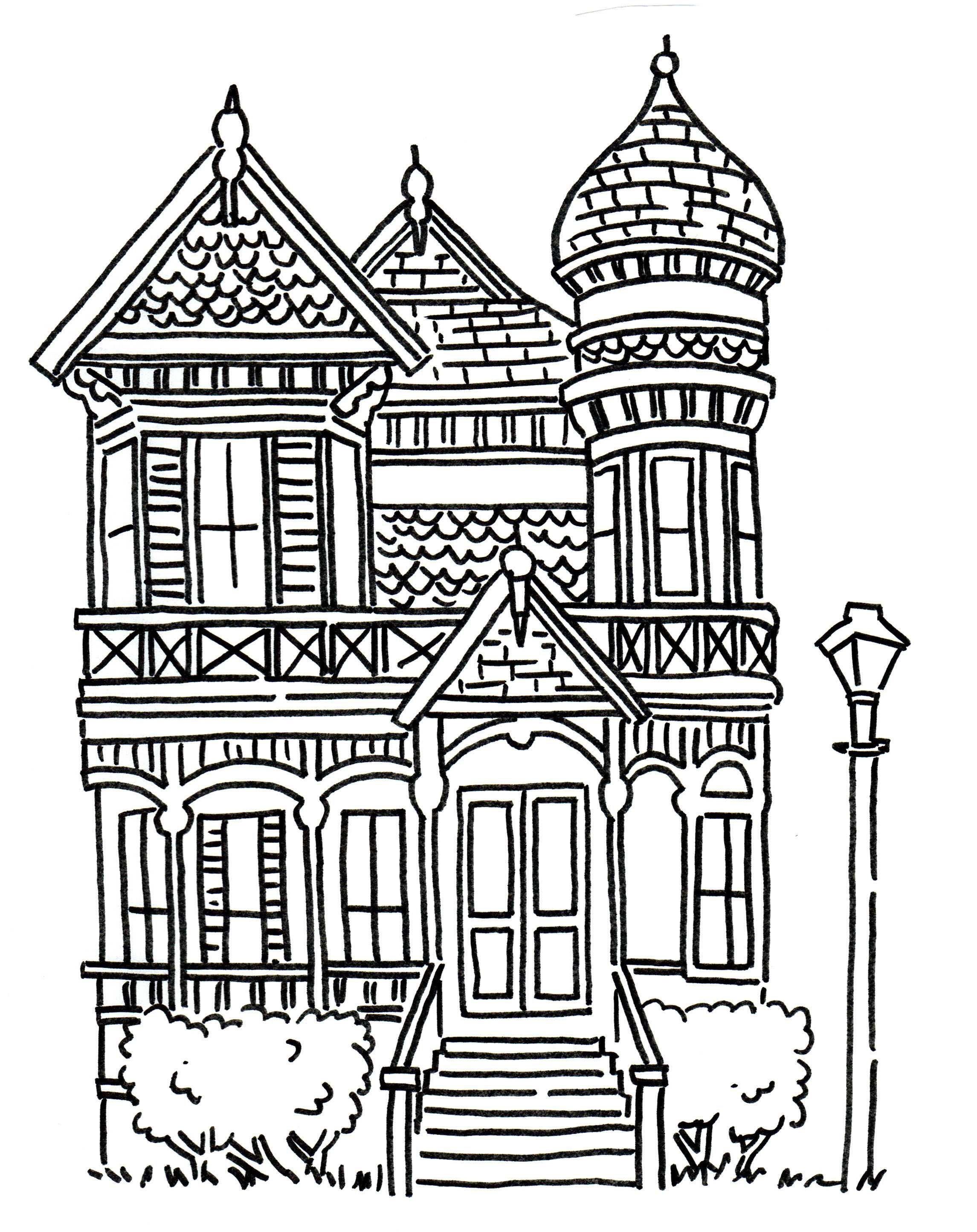 Halloween graveyard colouring page Halloween coloring