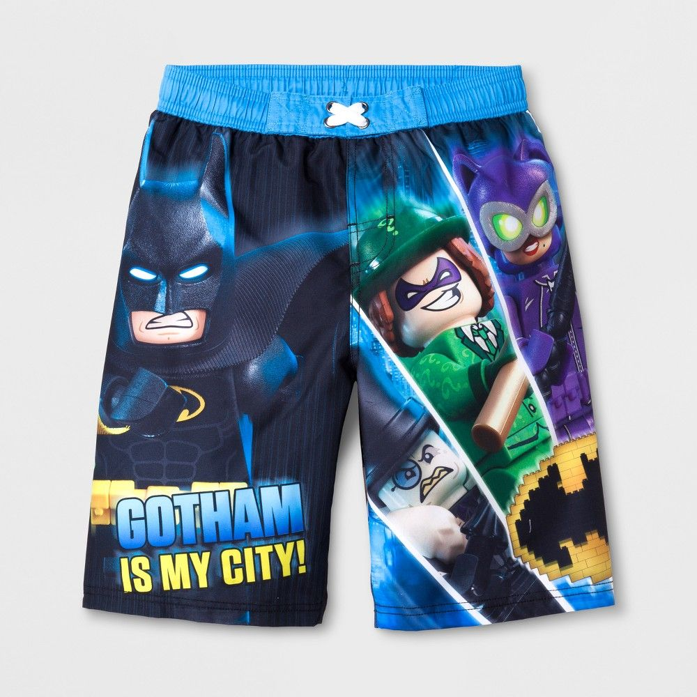 0b75fb4e18 Boys' Lego Batman Swim Trunks - Blue XS | Products | Pinterest ...