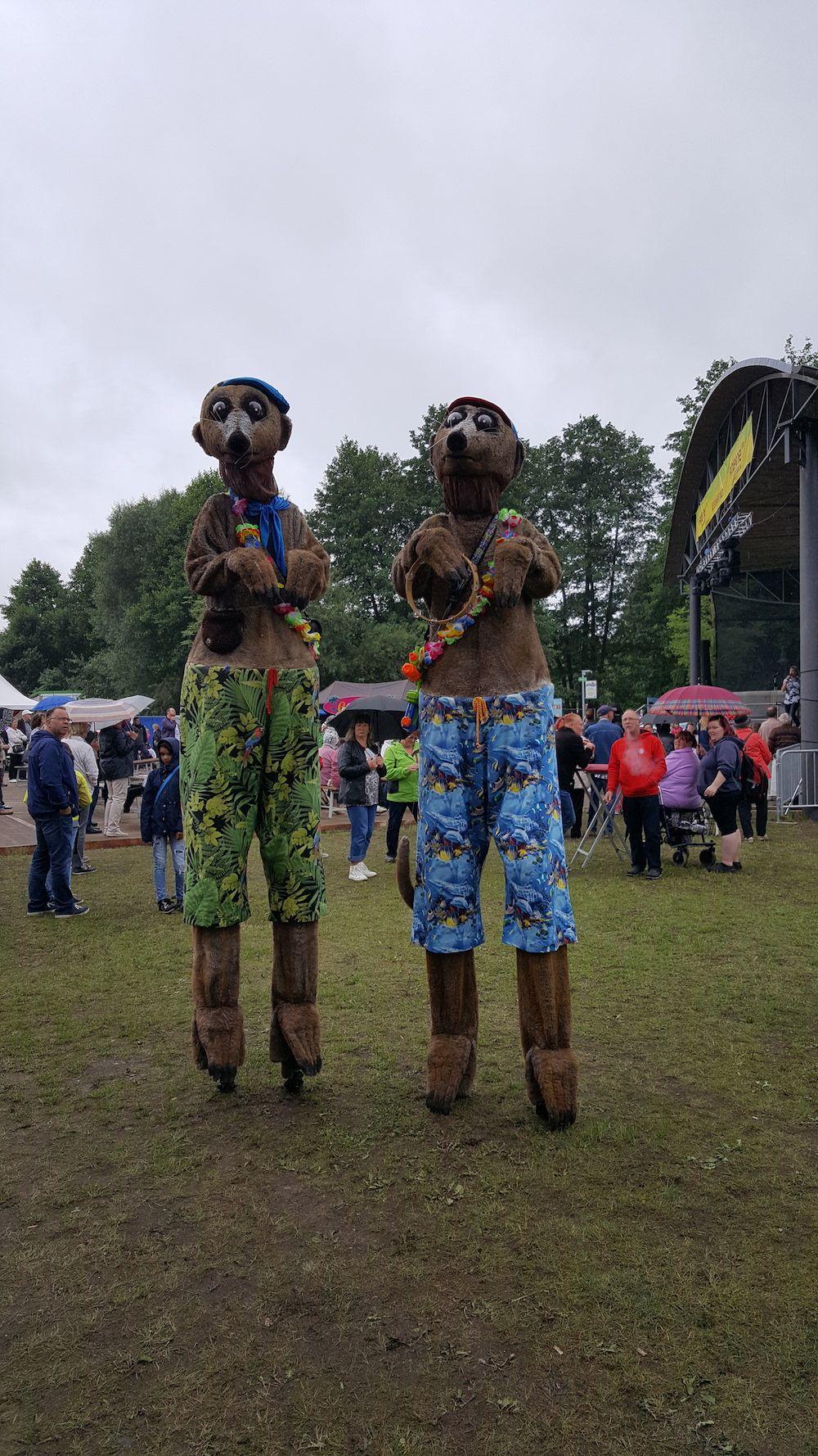 Unsere Erdboys sind mal wieder unterwegs. Diesmal in Schorfheide auf dem Flösserfest. Mit ihrem Schabernack sorgen sie für Freude und Begeisterung.