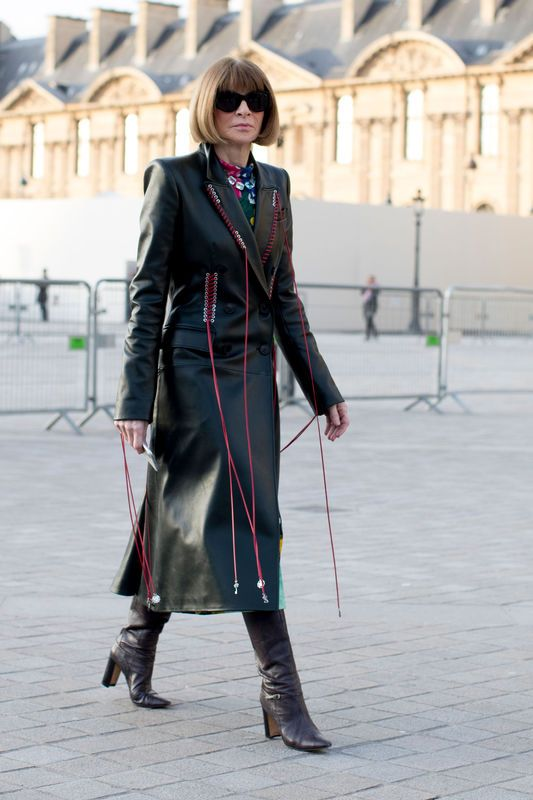 Street Fashion Paris Fashion Week Jesien Zima 2017 2018 Buro
