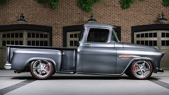 Mecum Find 1955 Chevrolet 3100 Restomod Truck Rod Authority