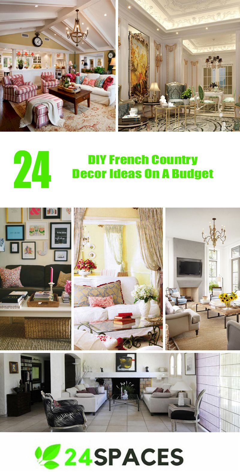 Top 24 Diy French Country Decor Ideas On A Budget Https 24es