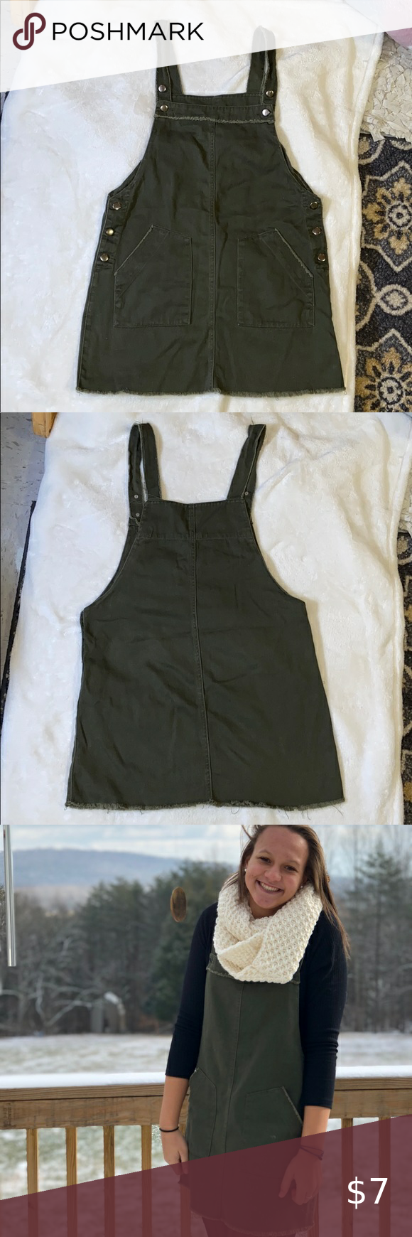 Green Overall Dress Overall Dress Clothes Design Overalls [ 1740 x 580 Pixel ]