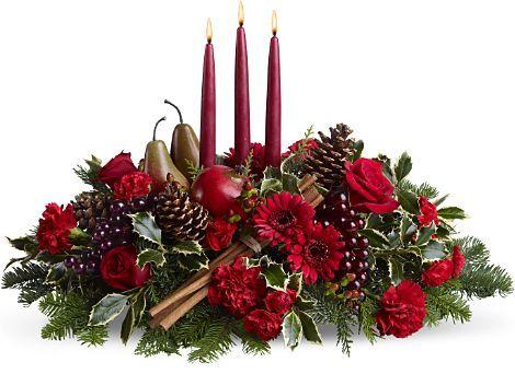 Una idea para tu ceña navideña o de año nuevo navidad Pinterest