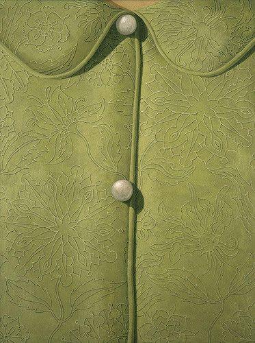 art-centric:Domenico Gnoli, chemise verte 1967 by -veluandcoco- via Flickr
