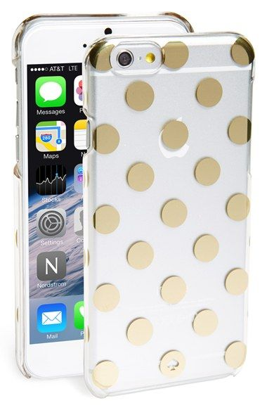Free Shipping And Returns On Kate Spade New York Le Pavilion Iphone 6 Case At Nordstrom Goldtone Dots Lend Signature Sophistication To A Transpa