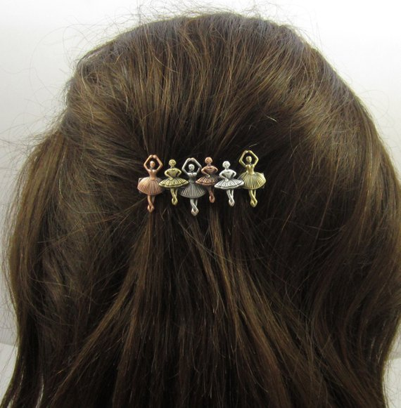2 Pieces Women Vintage French Barrette Barrettes Large Hair Pins Hair Clip