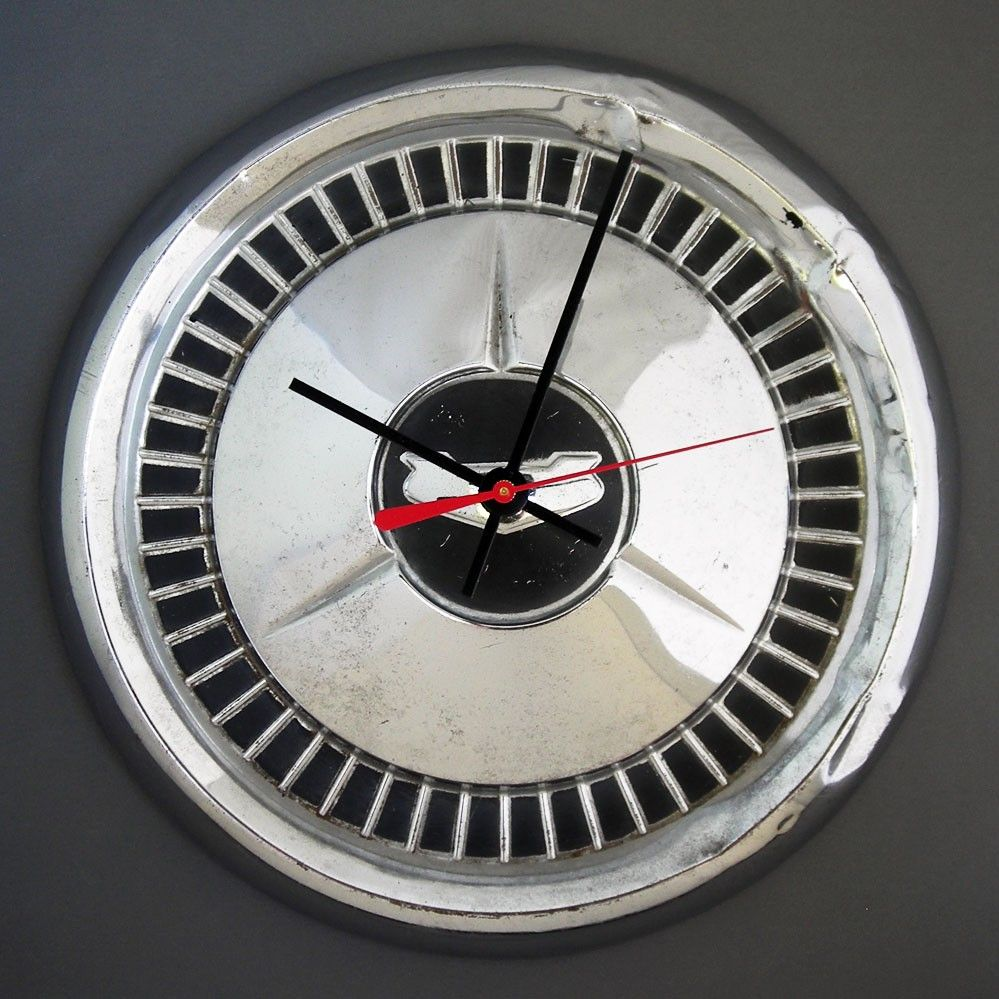 1957 Chevy Bel Air Hubcap Wall Clock 57 Chevrolet Hub Cap 1957 Chevy Bel Air Chevy Bel Air Bel Air