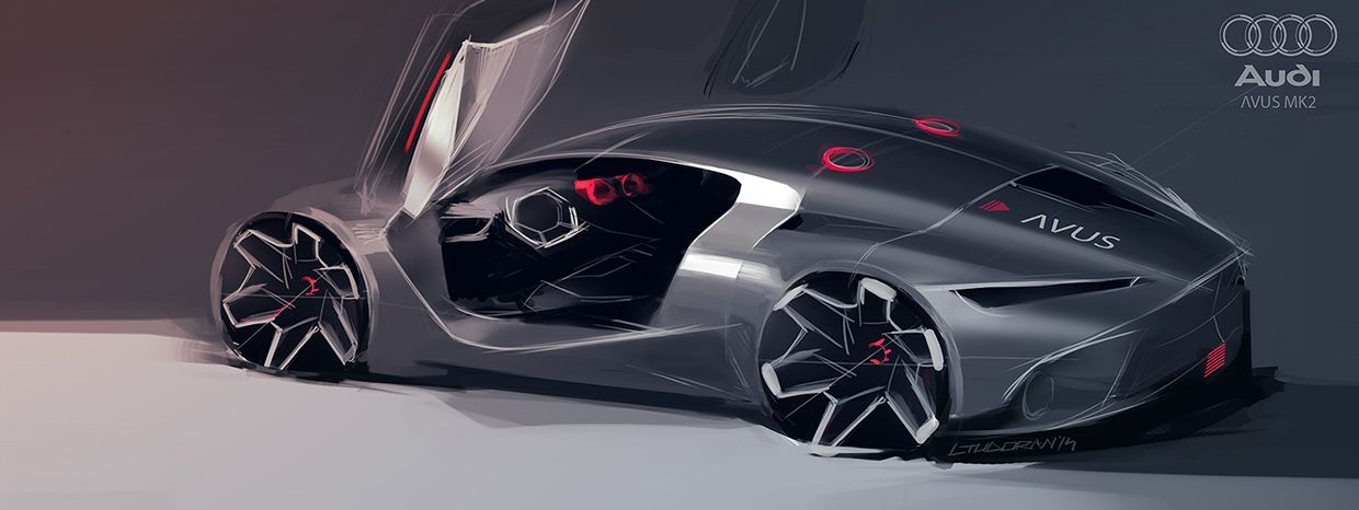 Audi Avus MK2 (WIP) on Behance