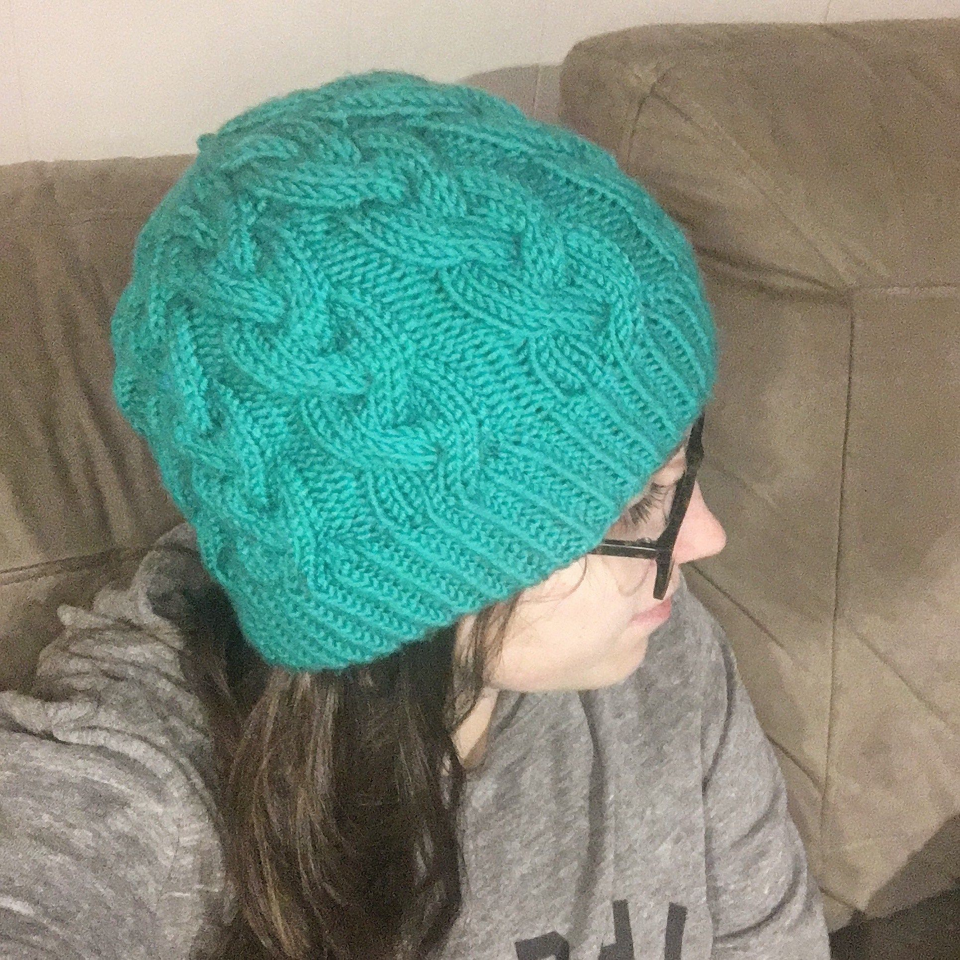 Trail Hiking Hat Pattern - a free knitting pattern from Knitting in ...