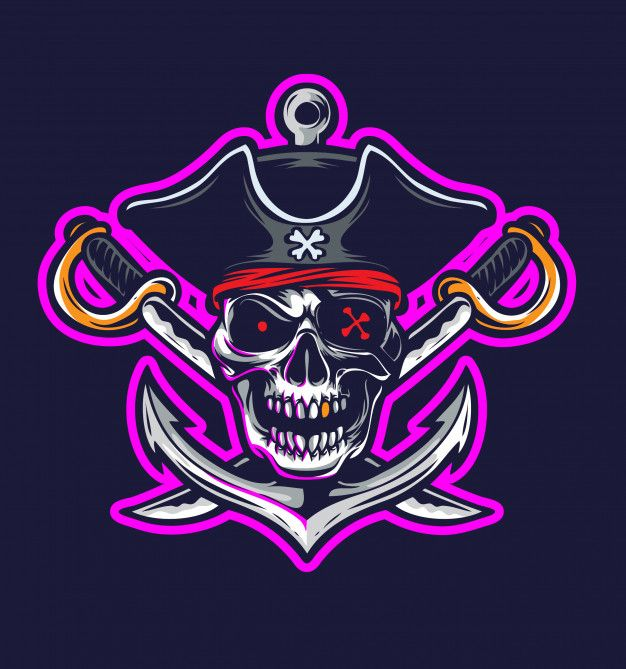 Pirate Logo Vector