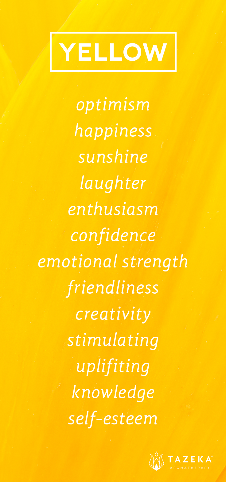 Yellow color psychology for Interieur meaning