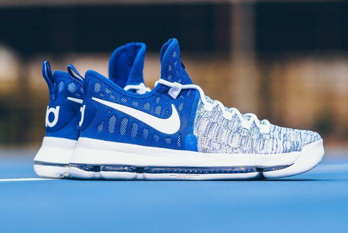 Nike Zoom KD 9 (Royal Blue/White