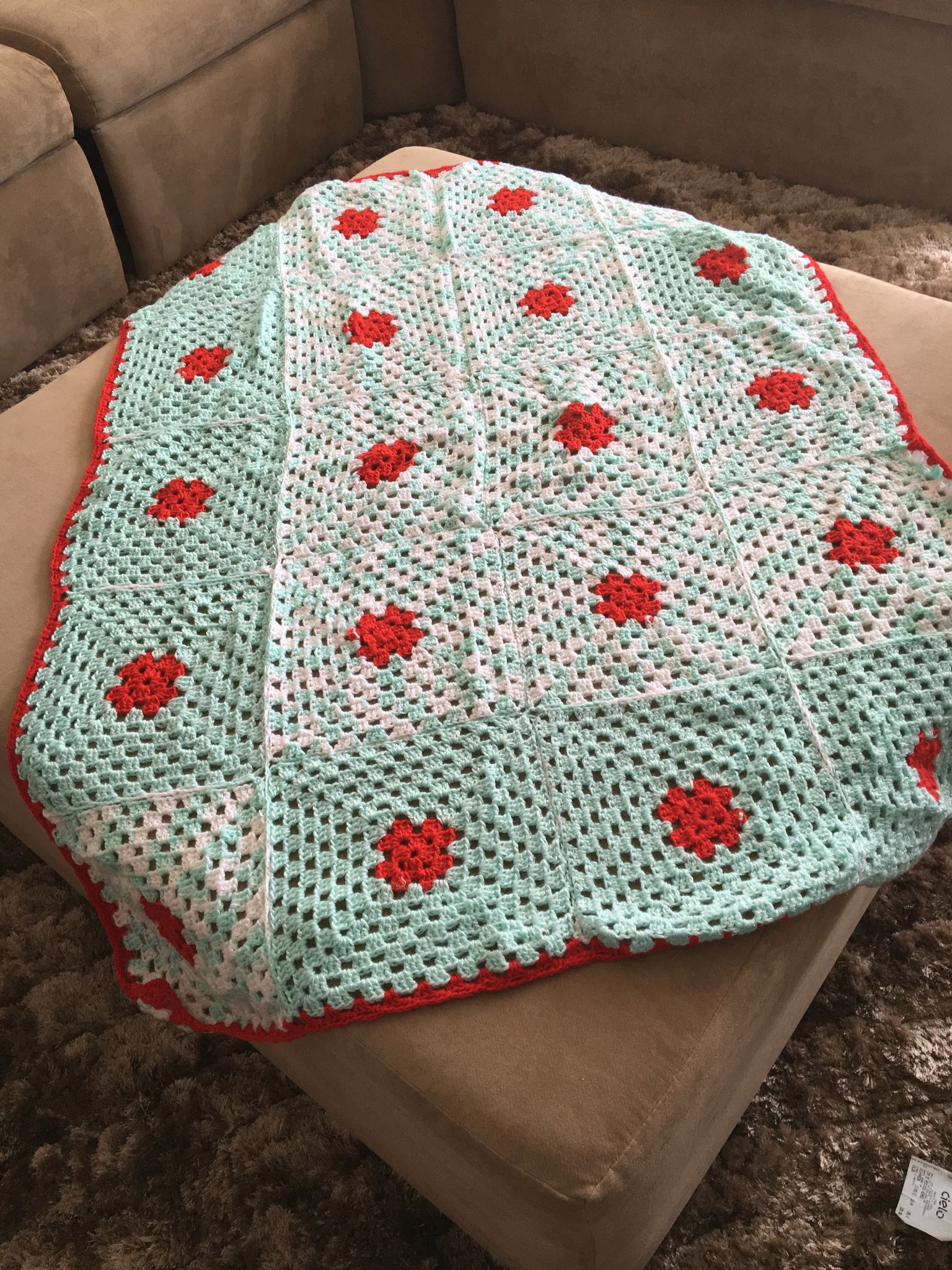 Usando sobras de lã